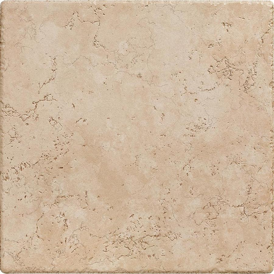 Del Conca Rialto Beige Thru Body Porcelain Floor and Wall Tile (Common: 12-in x 12-in; Actual: 11.81-in x 11.81-in)