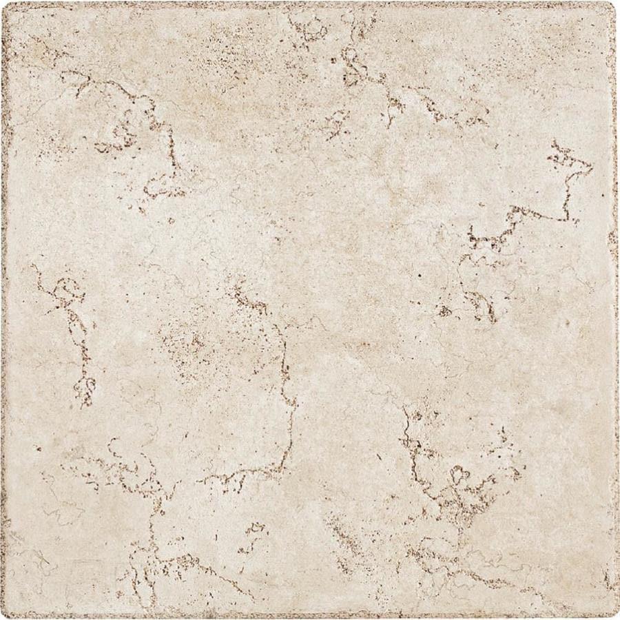Del Conca Rialto White 12 In X 12 In Thru Body Porcelain