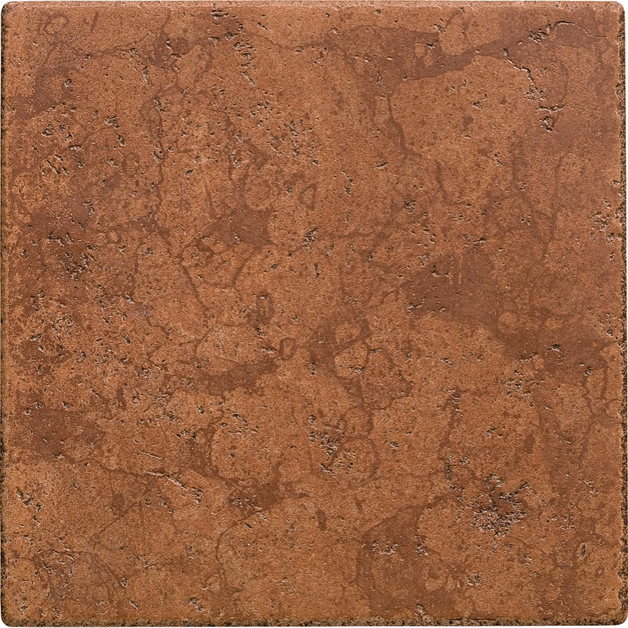 Shop del conca rialto terra thru body porcelain floor tile common 12 in x 12 in actual - Lowes floor tiles porcelain ...