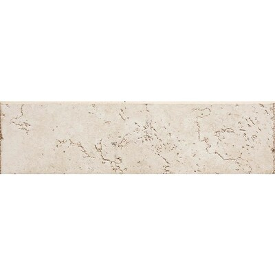 Rialto White Thru Body Porcelain Bullnose Tile Common 3 In X 12 Actual 15 11 81