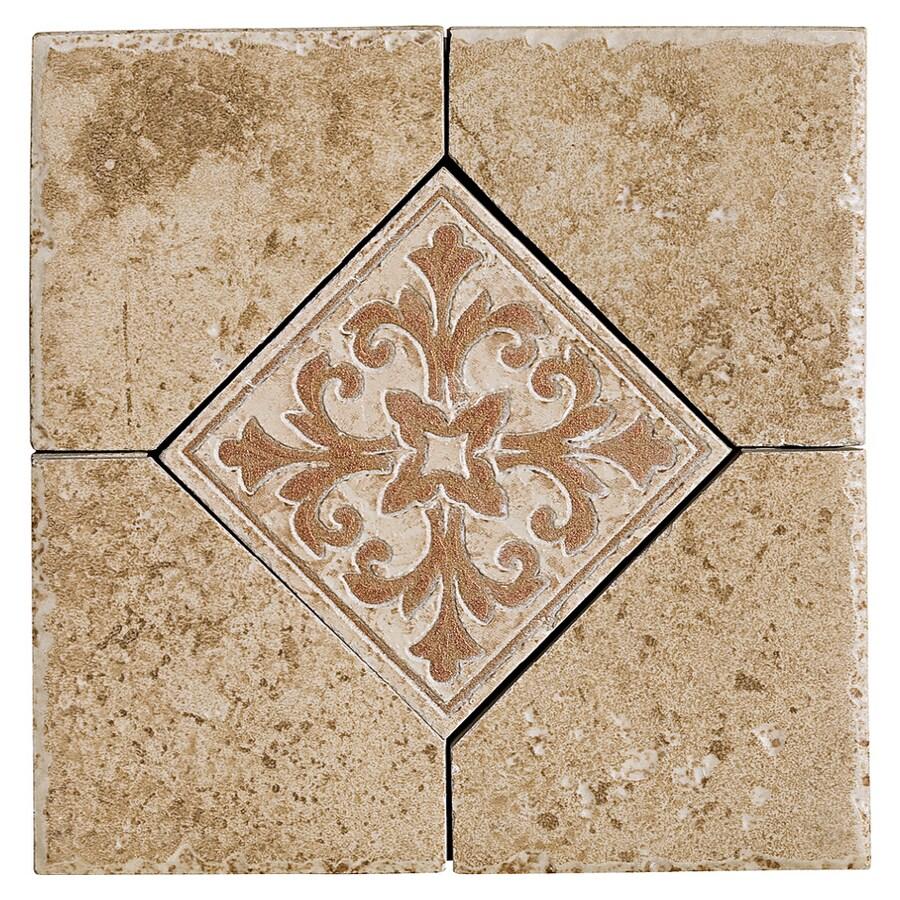 Del Conca Roman Stone Noce Thru Body Porcelain Chair Rail Tile Common 6