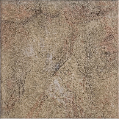 Style Selections 13 In X 13 In Canyon Slate Glazed