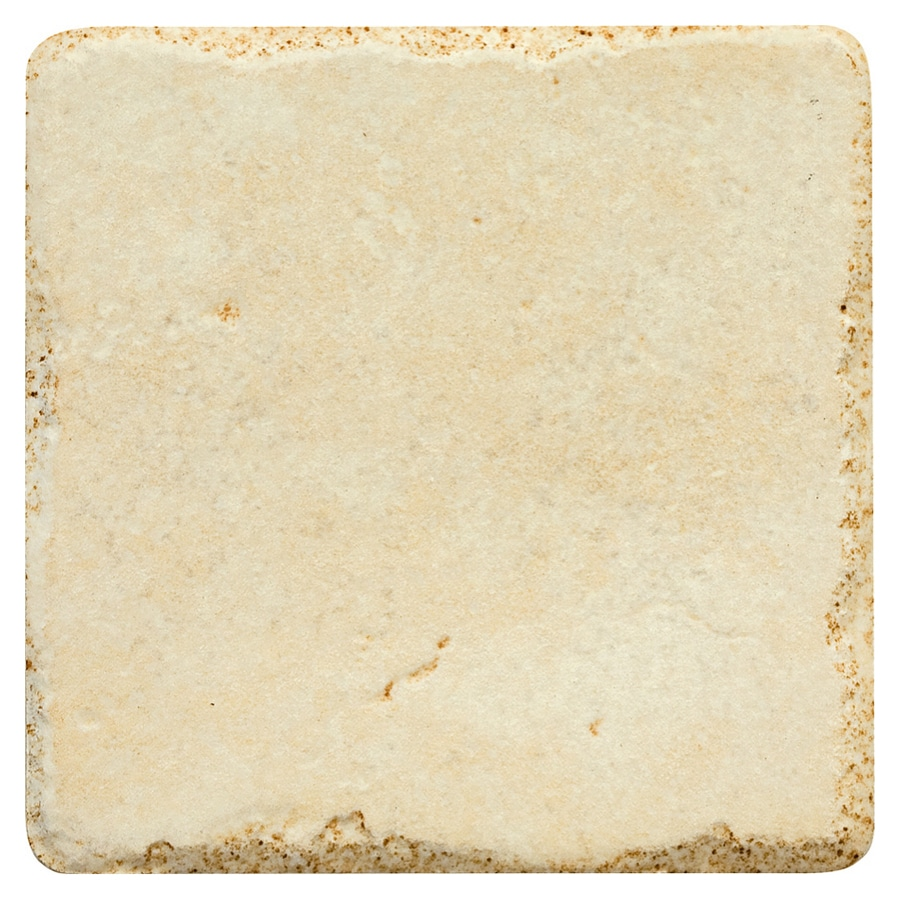 Del Conca 4-in x 4-in Agora Almond Thru Body Porcelain Wall Tile