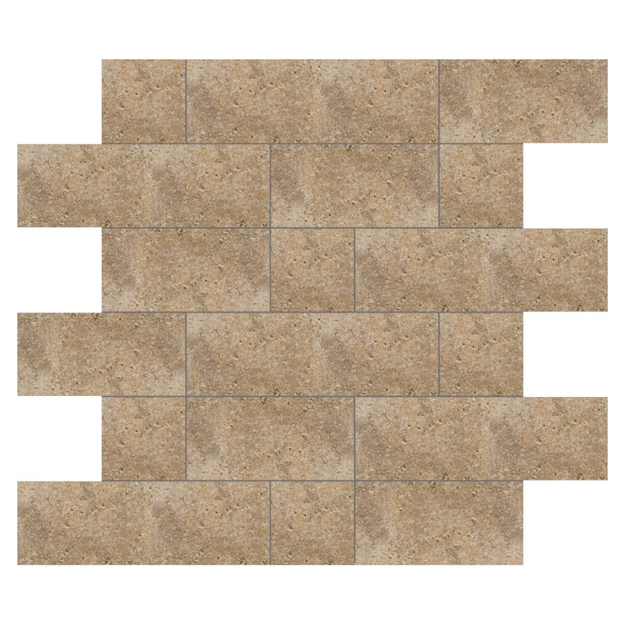 Del Conca 12-in x 12-in Agora Noce Thru Body Porcelain Square Accent Tile