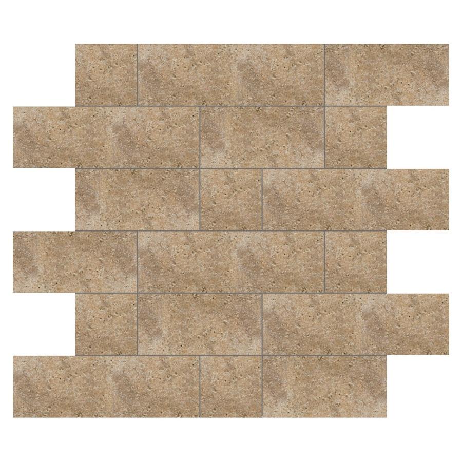 Del Conca 12-in x 12-in Agora Noce Thru Body Porcelain Square Accent Tile