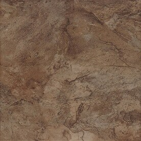 Style Selections Canyon 7-Pack Espresso 18-in x 18-in Porcelain Floor and Wall Tile (Common: 18-in x 18-in; Actual: 17.72-in x 17.72-in)