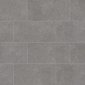 Style Selections Mitte Gray 12-in x 24-in Porcelain Tile (Common: 12-in x 24-in; Actual: 11.81-in x 23.62-in)