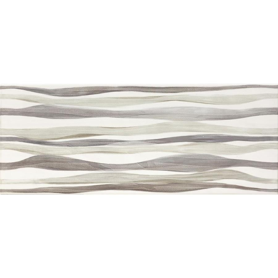 Del Conca Waves Multi Ceramic Wall Tile (Common: 8-in x 20-in; Actual: 7.87-in x 19.68-in)