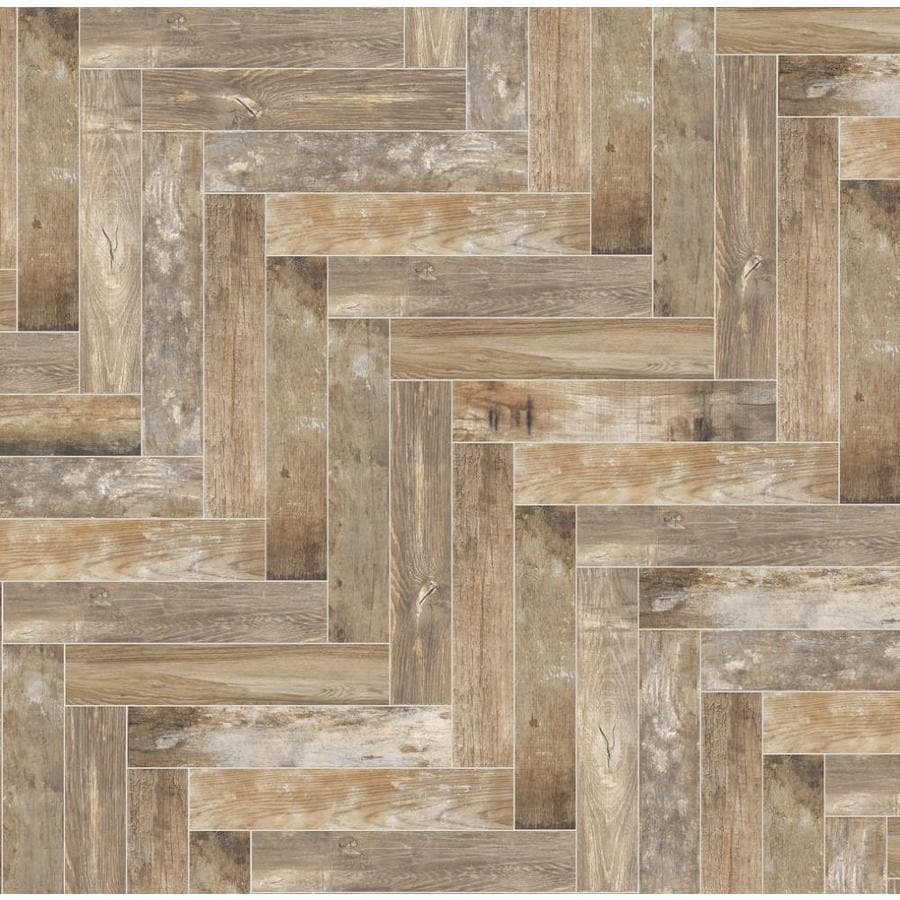 "Della Torre Casale Natural Porcelain Wood Look Floor/Wall Tile (3""x16"")"