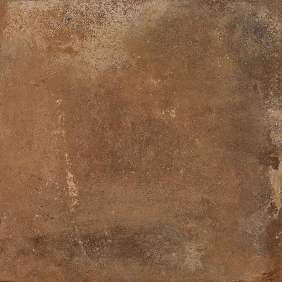 Della Torre Henley Cotto 24 In X 24 In Porcelain Floor And