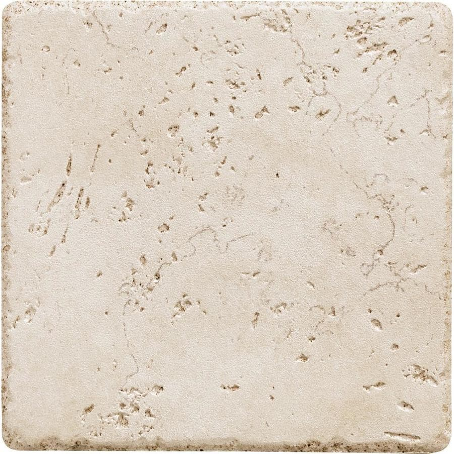 Shop Del Conca Rialto White Thru Body Porcelain Floor And Wall Tile Common 6 In X 6 In Actual