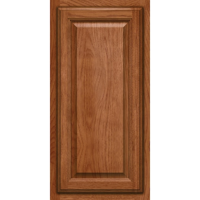 Kraftmaid 15 In W X 15 In H X D Sunset Hickory Kitchen Cabinet Sample In The Kitchen Cabinet Samples Department At Lowes Com