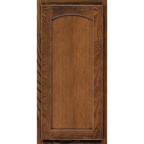 KraftMaid 15-in W x 15-in H x D Cognac Oak Kitchen Cabinet ...