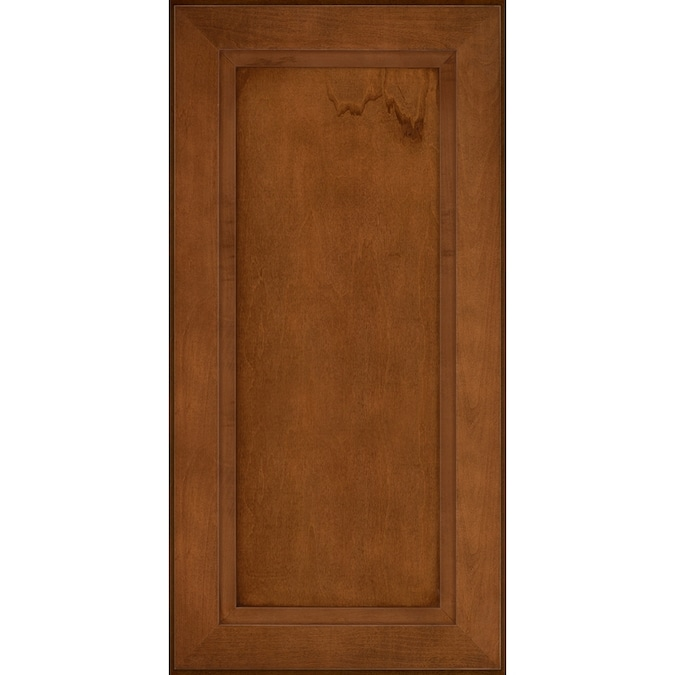 Kraftmaid 15 In W X 15 In H X D Chestnut Maple Kitchen Cabinet Sample In The Kitchen Cabinet Samples Department At Lowes Com