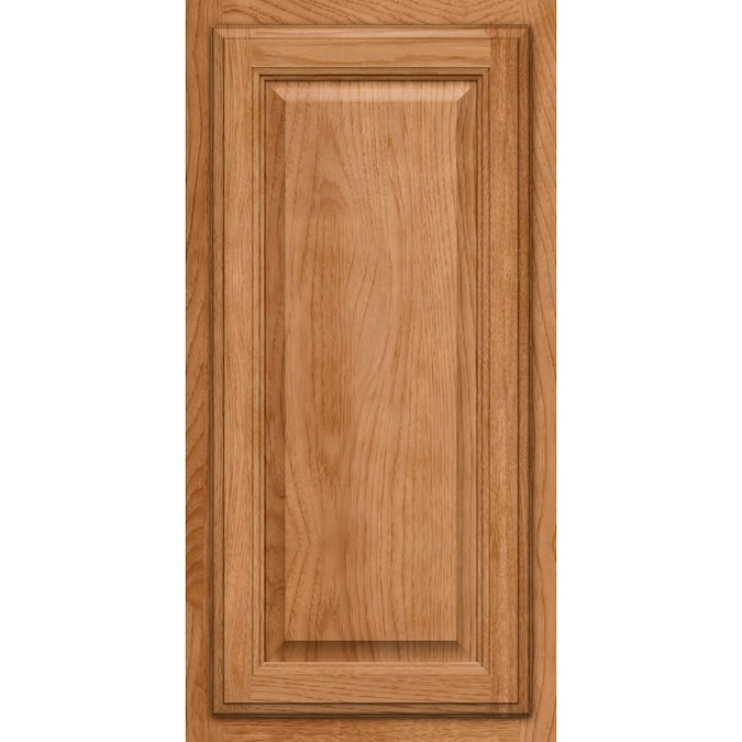 KraftMaid Hanover Hickory Square Honey Spice Stain Suede