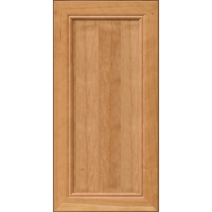 KraftMaid Jaycey Cherry Natural Stain Suede 15-in X 15-in