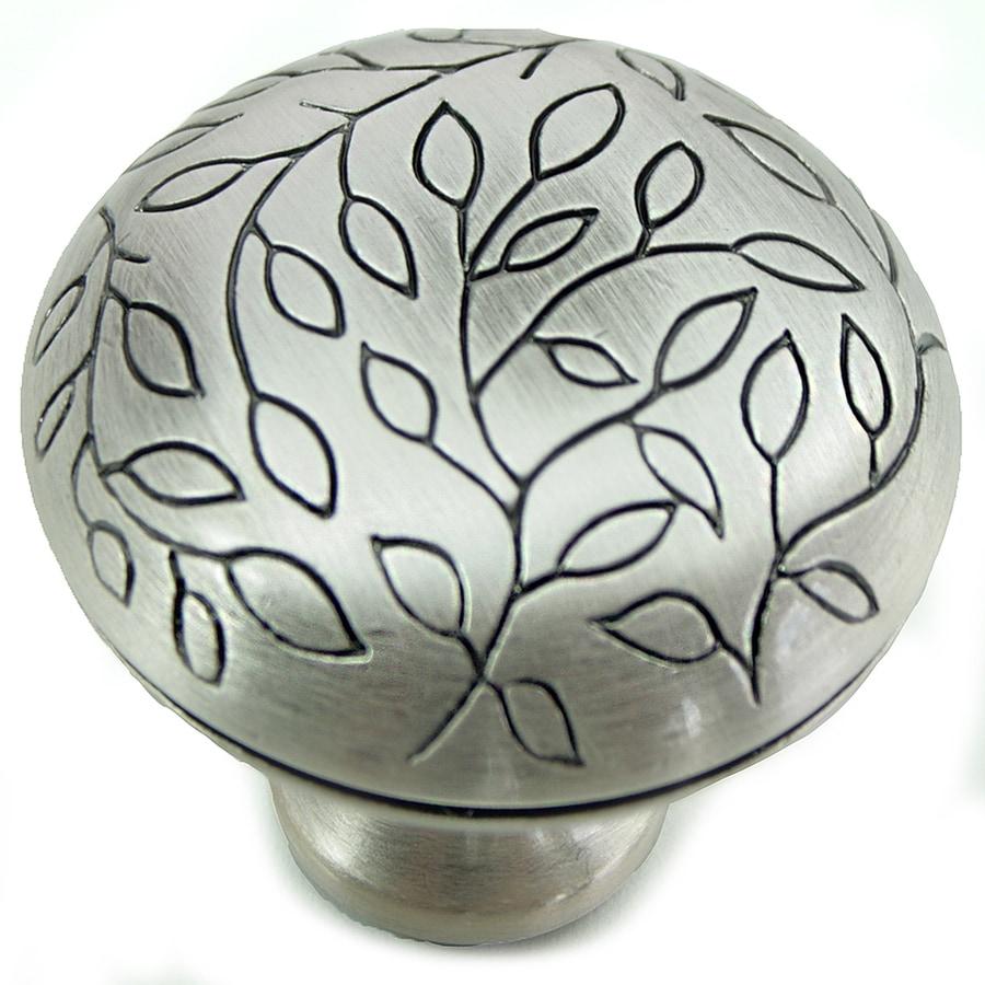 Laurey Antique Silver Round Cabinet Knob