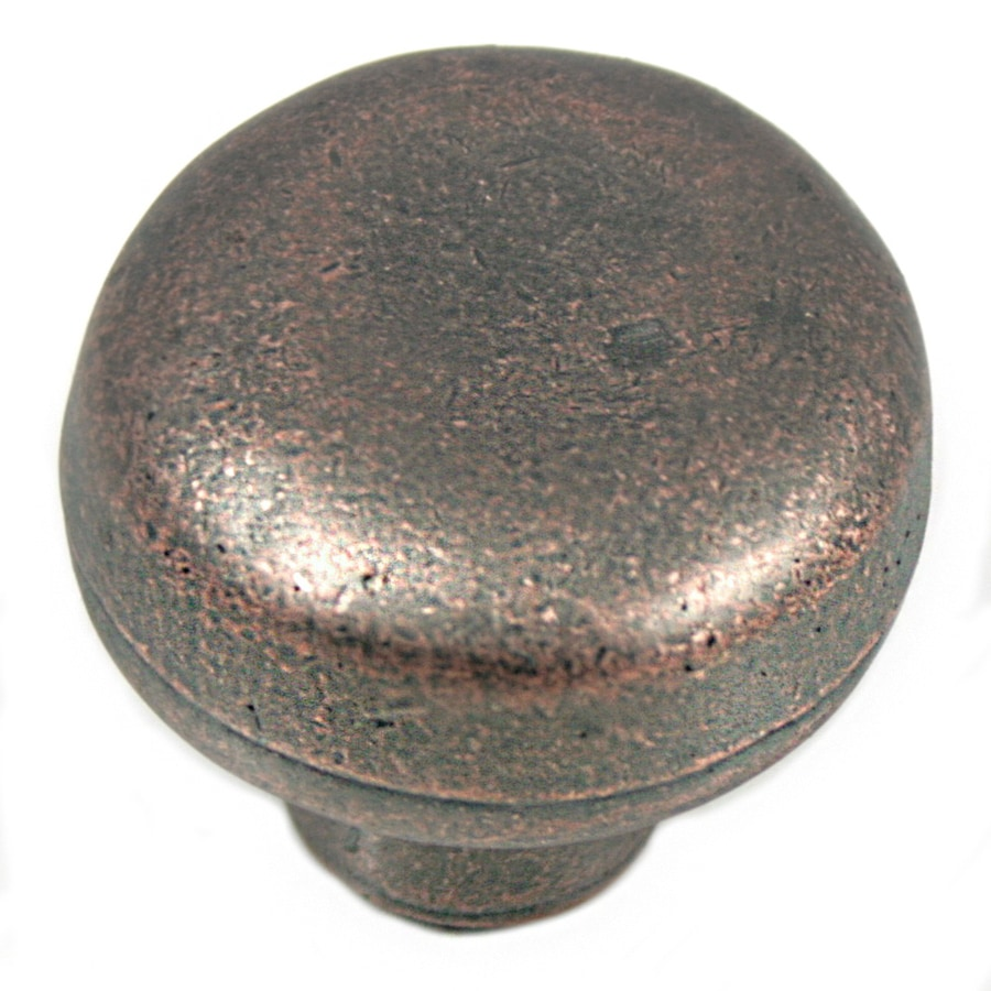 Laurey Distressed Copper Mushroom Cabinet Knob