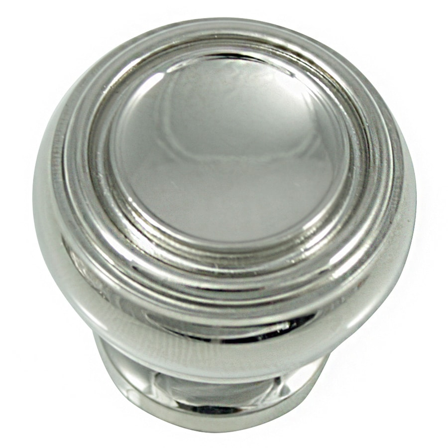 Laurey Polished Nickel Round Cabinet Knob