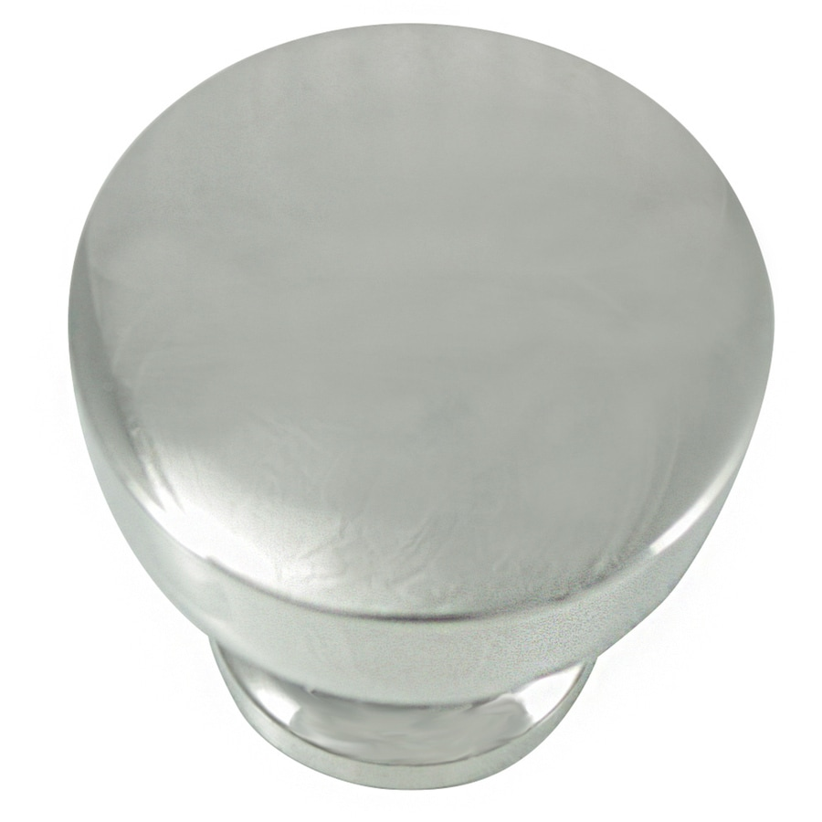 Laurey Polished Nickel Mushroom Cabinet Knob