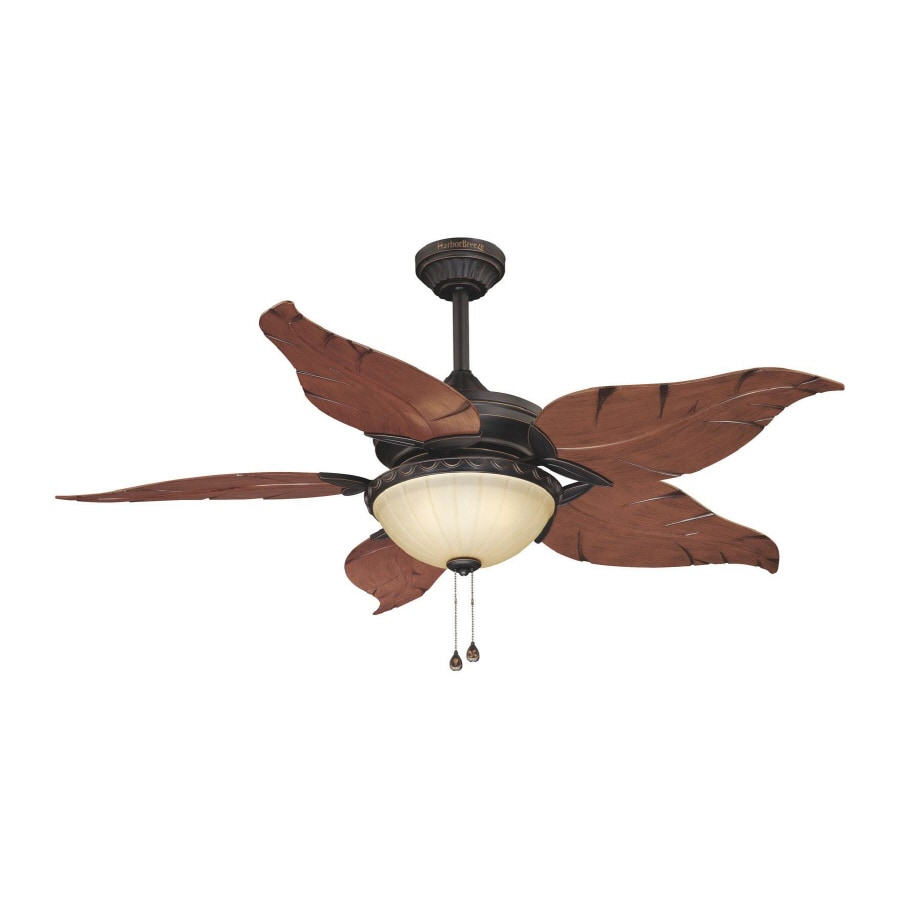 harbor breeze 52 in outdoor ceiling fan with light kit at. Black Bedroom Furniture Sets. Home Design Ideas