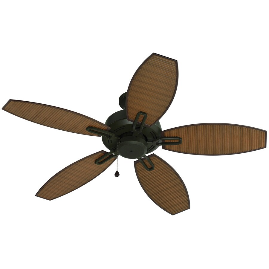Shop harbor breeze ocracoke 52 in specialty bronze downrod or close harbor breeze ocracoke 52 in specialty bronze downrod or close mount indooroutdoor ceiling energy star qualified aloadofball Image collections