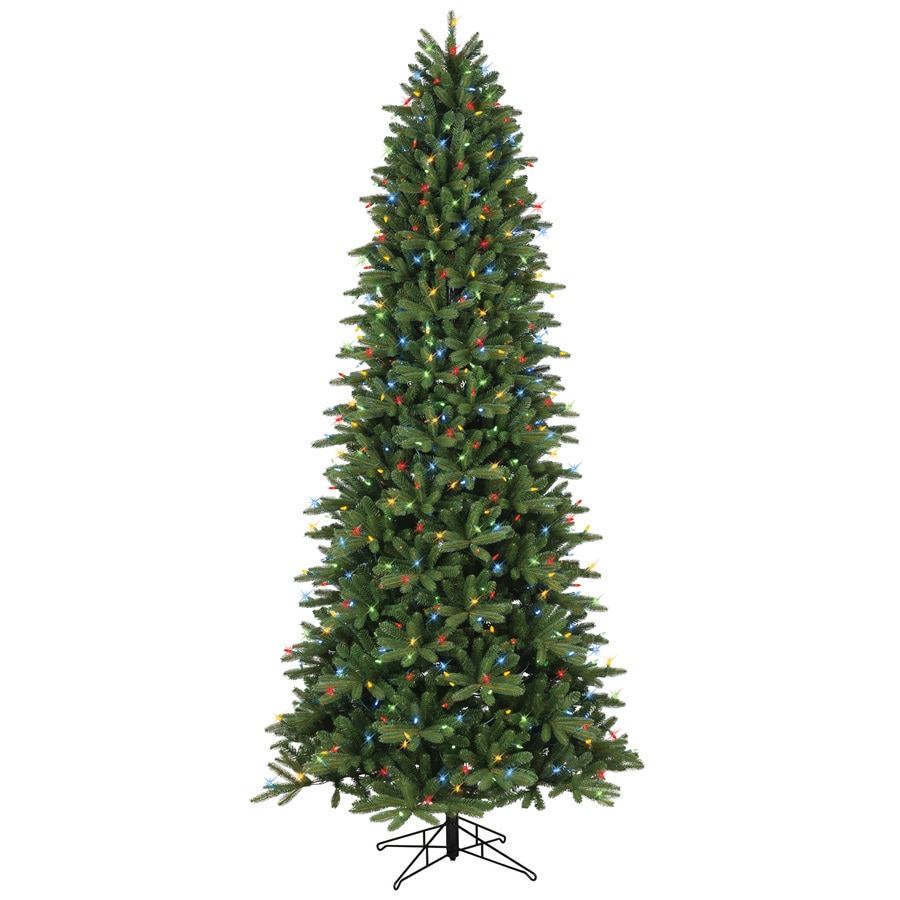 Ge 9 Ft Pre Lit Frasier Fir Artificial Christmas Tree With
