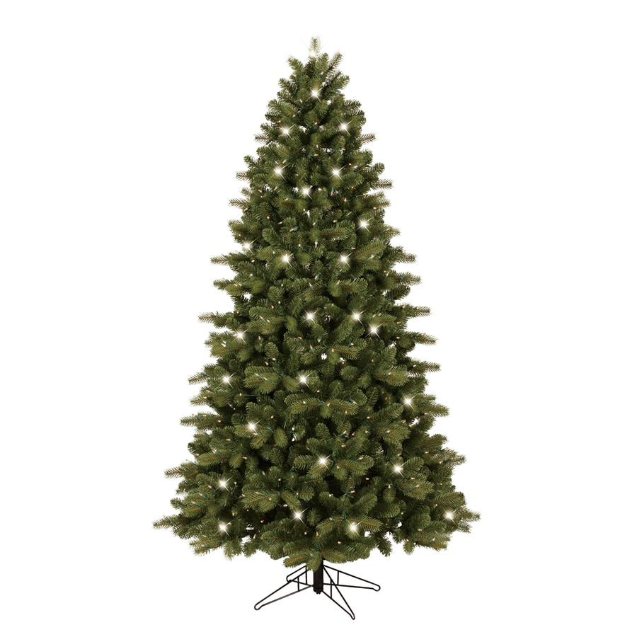 7 ft pre lit led christmas tree - Ge 7 Ft Pre Lit Colorado Spruce Artificial Christmas Tree With White Incandescent Lights