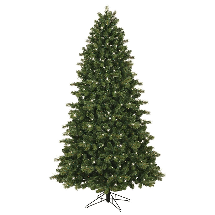 GE 7.5-ft Pre-Lit Colorado Spruce Artificial Christmas Tree