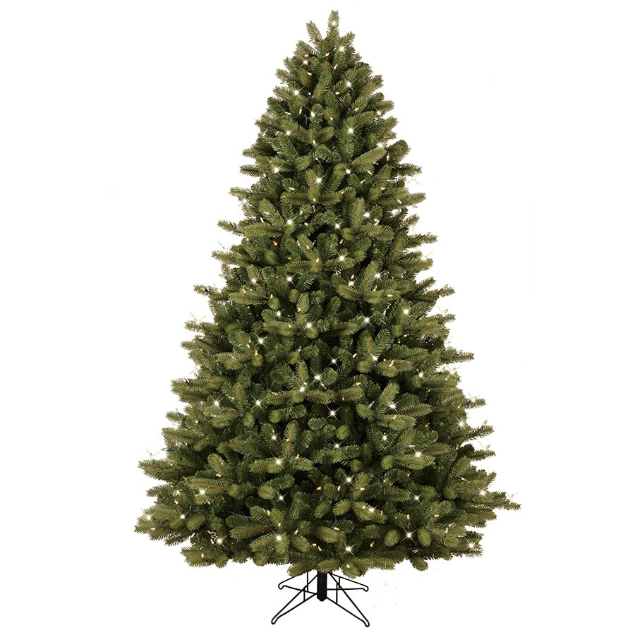 Ge 7 5 Ft Pre Lit Colorado Spruce Artificial Christmas Tree With 600