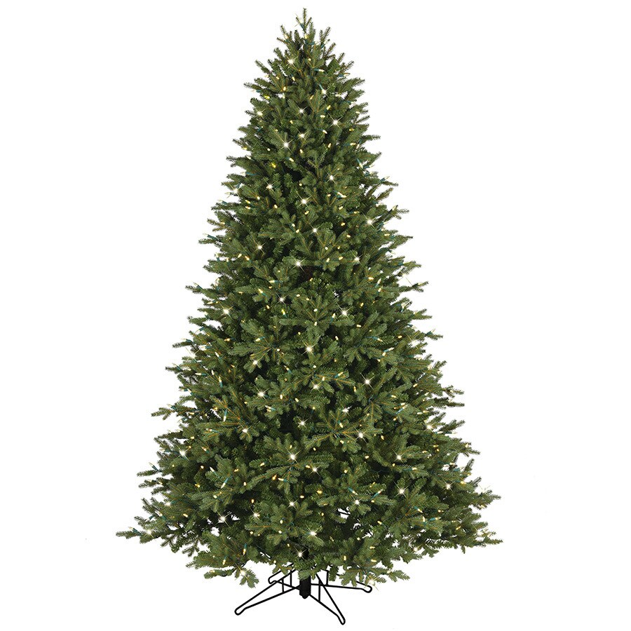 ge 75 ft pre lit aspen fir artificial christmas tree with 700 color changing - Artificial Christmas Trees