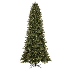 ge 9 ft pre lit aspen fir slim artificial christmas tree with 700 color - 9 Pre Lit Christmas Tree