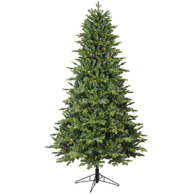 quality design 8609f 60f0a 7-ft Pre-Lit Asheville Fir Artificial Christmas Tree with 500  Multi-Function Color Changing LED Lights
