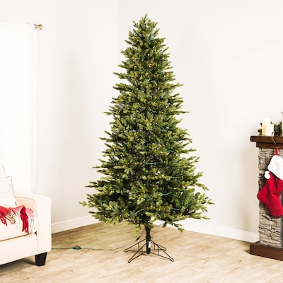 Lowe's GE 7-ft Pre-Lit Asheville Fir Artificial Christmas Tree