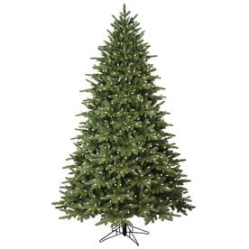 GE 7.5-ft Pre-lit Frasier Fir  Artificial Christmas Tree with 600 Sparkling Warm White LED Lights