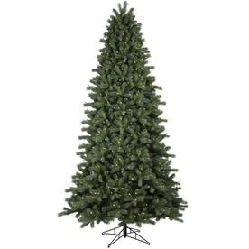 ge 9 ft pre lit colorado spruce artificial christmas tree with 700 multi
