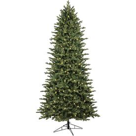 ge 9 ft pre lit ashville fir artificial christmas tree with 2000 constant warm