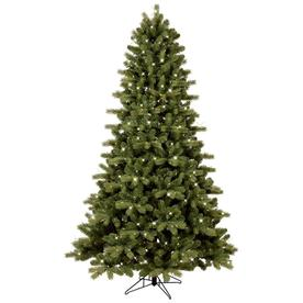 ge 75 ft pre lit colorado spruce artificial christmas tree with 500 multi - Christmas Tree With Led Lights