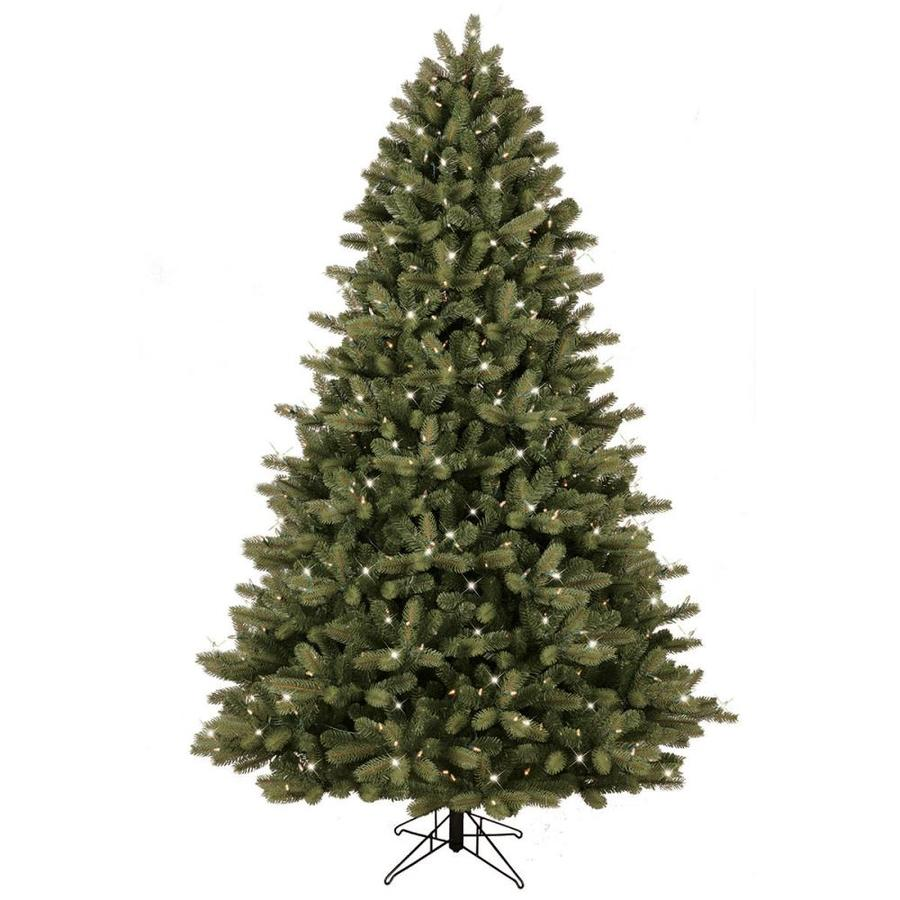 Ge 7 5 Ft Pre Lit Colorado Spruce Artificial Christmas Tree With 600 Multi