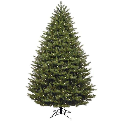 Where To Buy A Nice Artificial Christmas Tree: GE 7.5-ft Pre-lit Oakmont Spruce Artificial Christmas Tree