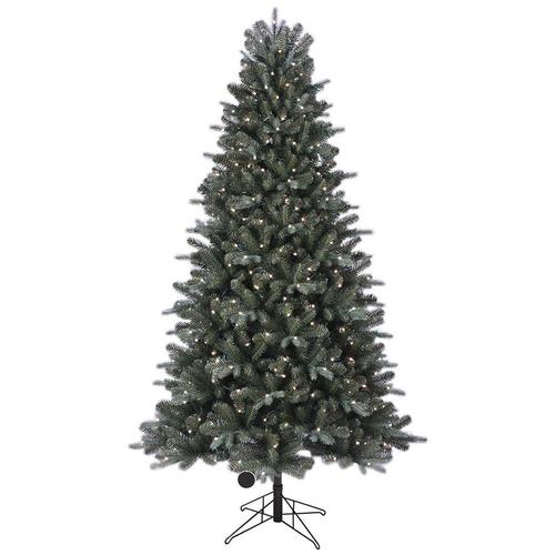 7 5 Foot Artificial Christmas Tree Multi Colored Lights: GE 7.5-ft Pre-lit Boone Spruce Artificial Christmas Tree