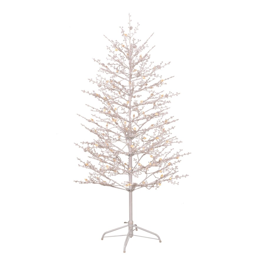 Ge 5 Ft Freestanding Winterberry Tree With Multi Function