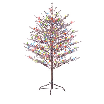 Ge 60 In Winterberry Tree With Multicolor Led Lights by Lowe's