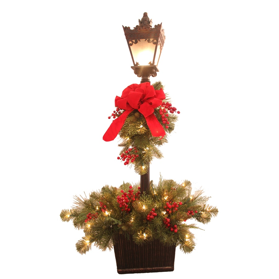 Shop ge freestanding indoor christmas decoration at for Pictures of indoor christmas decorations