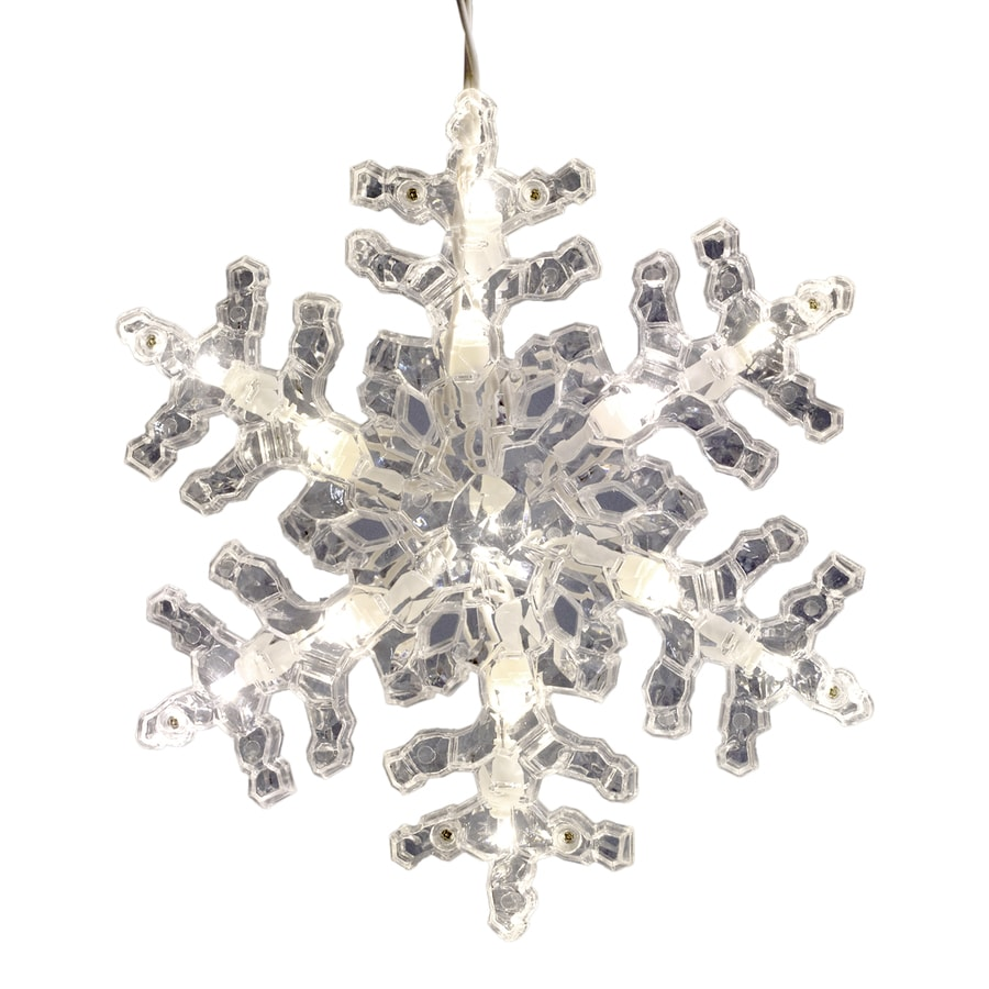GE StayBright 52-Count Sparkling White Icicle LED Plug-In Christmas Icicle Lights