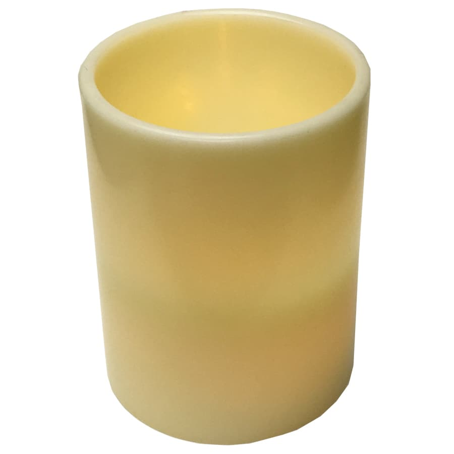 GE Pre-Lit Candle Candle with Flickering White LED Lights