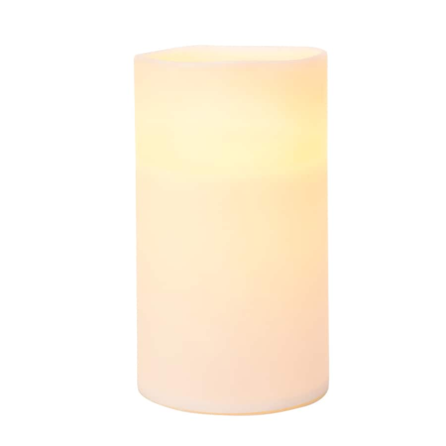 GE 7-in Christmas Pillar Candle