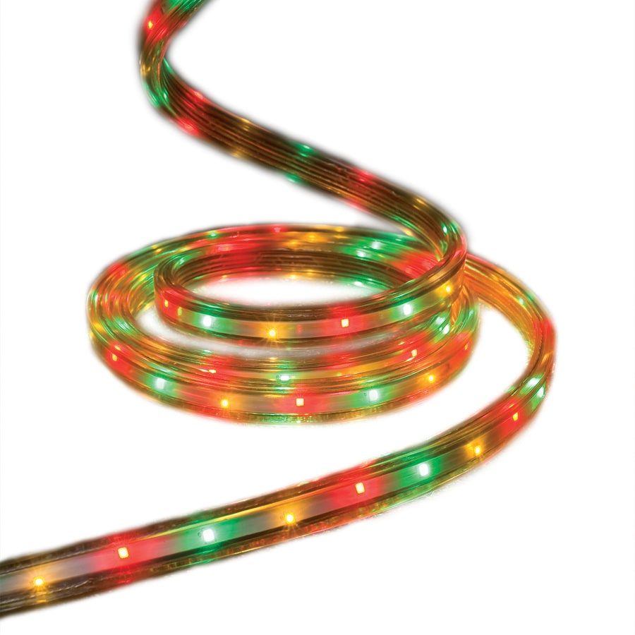 Shop Ge Staybright 216 Count 196 Ft Multicolor Integrated Led Plug Fused Wiring Wow In Christmas Rope