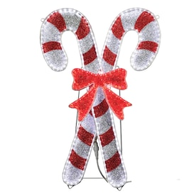 Candy Cane Outdoor Christmas Decorations At Lowes