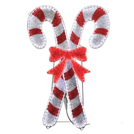 Candy cane Outdoor Christmas Decorations at Lowes.com